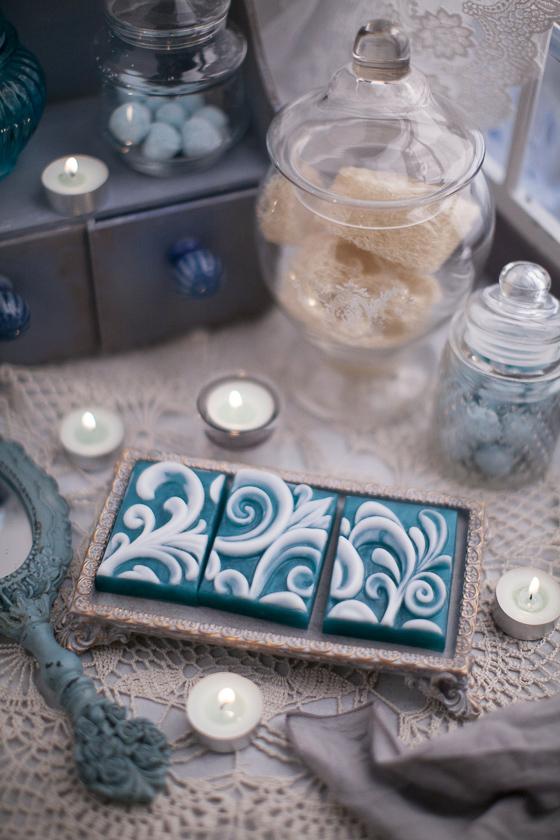 Подарочное мыло ручной работы Орнамент