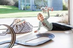 Коврик-мешок для игрушек (2 в 1) Play&Go Print СИНИЙ ЗИГЗАГ 79961 3