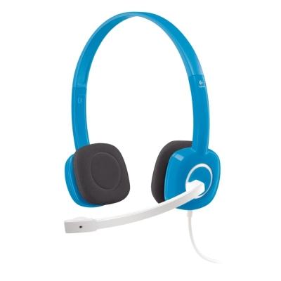 LOGITECH H150 Stereo Headset Blueberry