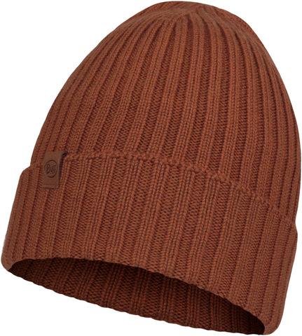 Вязаная шерстяная шапка Buff Hat Wool Knitted Norval Rusty фото 1