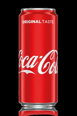 Coca-Cola 0.33 L (dəmir qab)