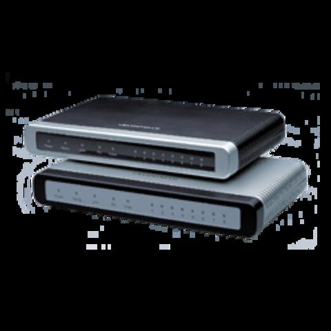Grandstream GXW4108 - IP шлюз. 8xFXO, 1xLAN, 1xWAN, 100Mbit/s