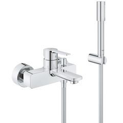 Смеситель для ванны с душевым набором Grohe Lineare 33850001 фото