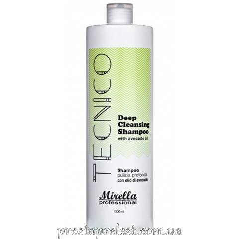 Mirella Professional Tecnico Deep Cleansing Shampoo - Шампунь глубокой очистки с маслом авокадо