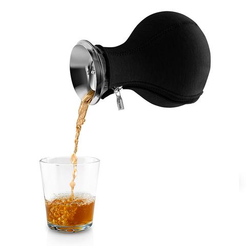 Чайник заварочный Tea maker в неопреновом текстурном чехле, 1 л, черный