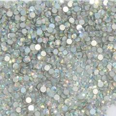 Стразы стекло, ss5 - 2,5 мм Белые 50 шт