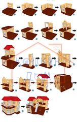Инструкция по сборке кукольного домика Happy Family