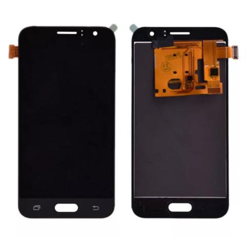 LCD SAMSUNG J1 (2016) J120 + Touch Black Orig MOQ:5