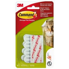 Полоски монтажные Command белые нагрузка до 450 г (12 штук в упаковке)