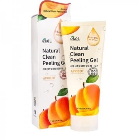 Пилинг-скатка с экстрактом абрикоса EKEL Natural Clean Peeling Gel Apricot