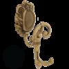 Крючок двойной с завитком Migliore Cleopatra ML.CLE-60.704