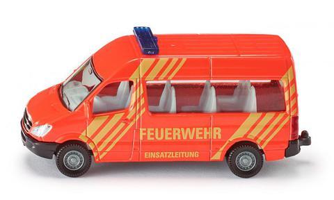 Siku. Микроавтобус пожарной службы. 1:87
