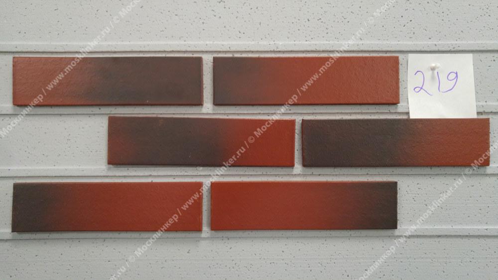 King Klinker - цвет Wild wine (04), Dream House, 65x250x10, RF - Клинкерная плитка для фасада и внутренней отделки