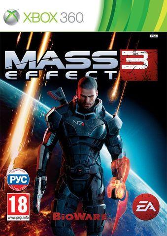 Mass Effect 3 (Xbox 360, с поддержкой MS Kinect, русские субтитры)
