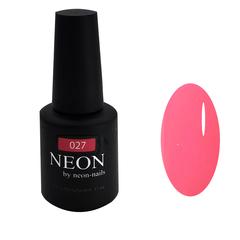 Розовый неоновый люминисцентный гель-лак NEON