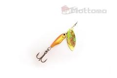 Блесна Mottomo Spin Blade #1 6g Gold Gold