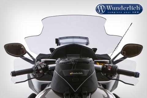 Ветровое туристическое стекло с вентиляцией для BMW K 1600 GT/GTL/B/GA, затемненное