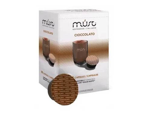 Какао в капсулах Must Cioccolato, 16 капсул для кофемашин Dolce Gusto