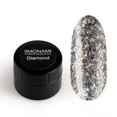 Гель-лак Diamond Milky Way (платиновый) 5 гр Mo...