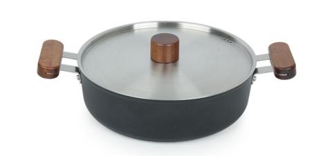 Кастрюля Oslo IH 24 см низкая для индукционных плит, с крышкой