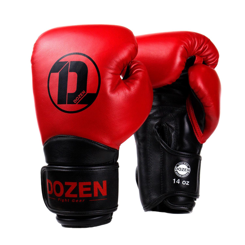 Перчатки Dozen Dual Impact Red/Black главный вид