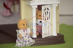 Семейка котиков хэппи фэмили в кукольном домике