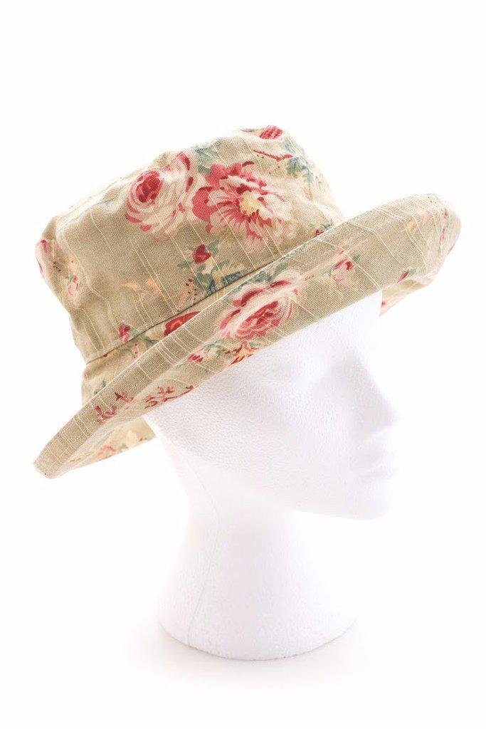 Шляпа от солнца водонепроницаемая с цветочным принтом Bradleys