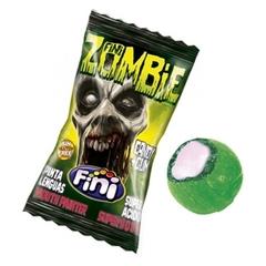 Карамель с жевательным центром Fini Zombie 80 гр