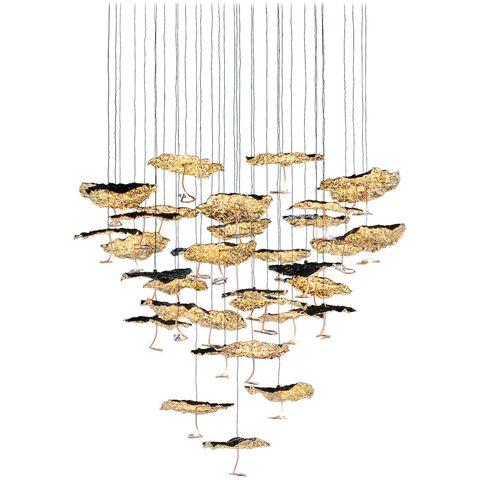 Подвесной светильник копия Gold Moon (45) by Catellani & Smith