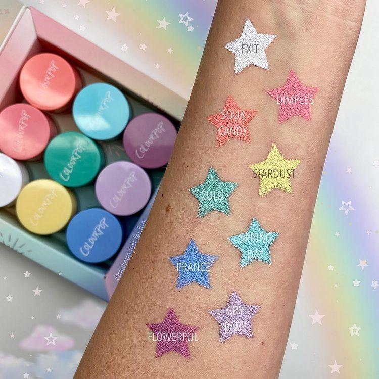 ColourPop Creme Gel Colour Stardust