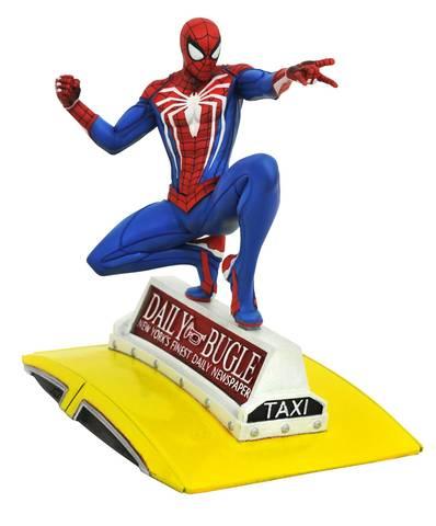 Фигурка Spider-Man on Taxi — Marvel Gallery PS4 Statue