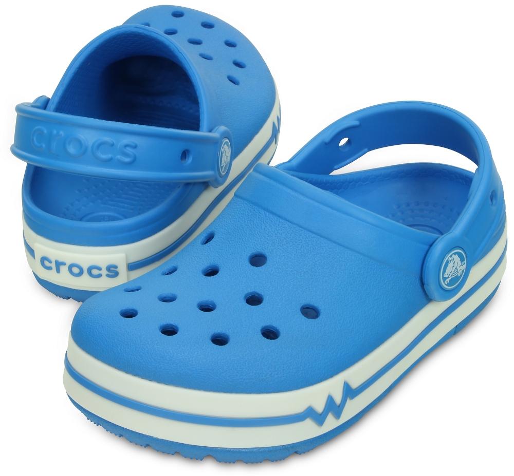 Детские мигающие сабо CrocsLights Clogs 16138-49Y