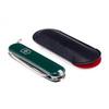 Нож-брелок Victorinox Classic, 58 мм, 7 функций, зеленый