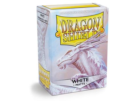 Протекторы Dragon Shield матовые White (100 шт.)