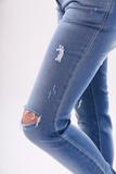 Джинсы для беременных (SLIM) 08405 синий