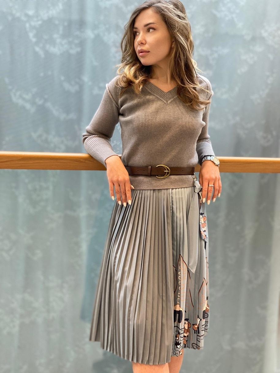 Платье, Ballerina, 026 (серый)