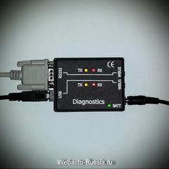 Адаптер диагностический для Webasto Altox USB и COM