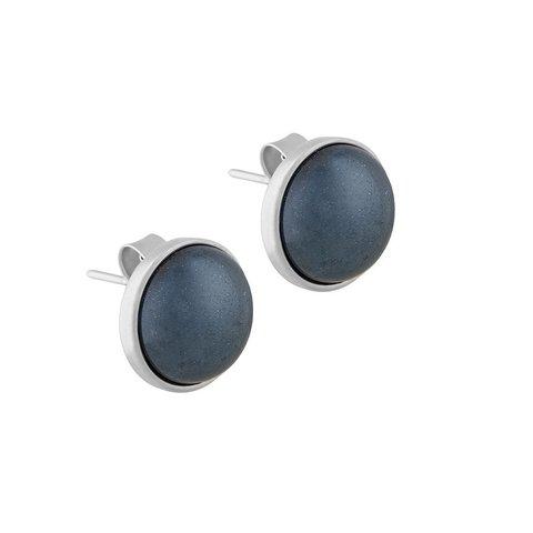 Пусеты Pearl Blue Aventurine A1992.23 BL/S