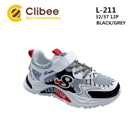 Clibee L211 Black/Grey 32-37