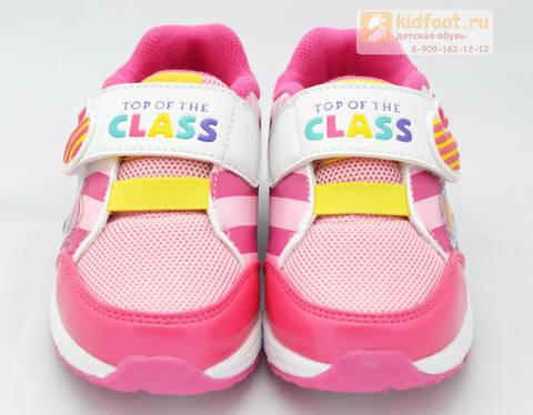 Светящиеся кроссовки Пони (My Little Pony) на липучке для девочек, цвет розовый. Изображение 5 из 8.