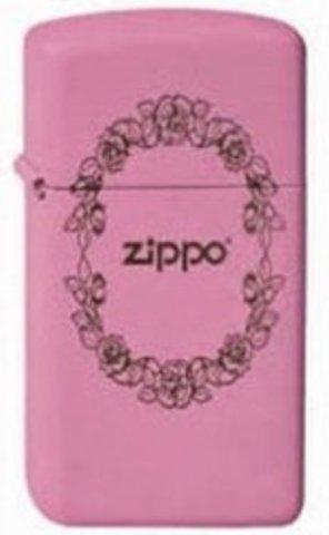 Зажигалка Zippo Rose Border