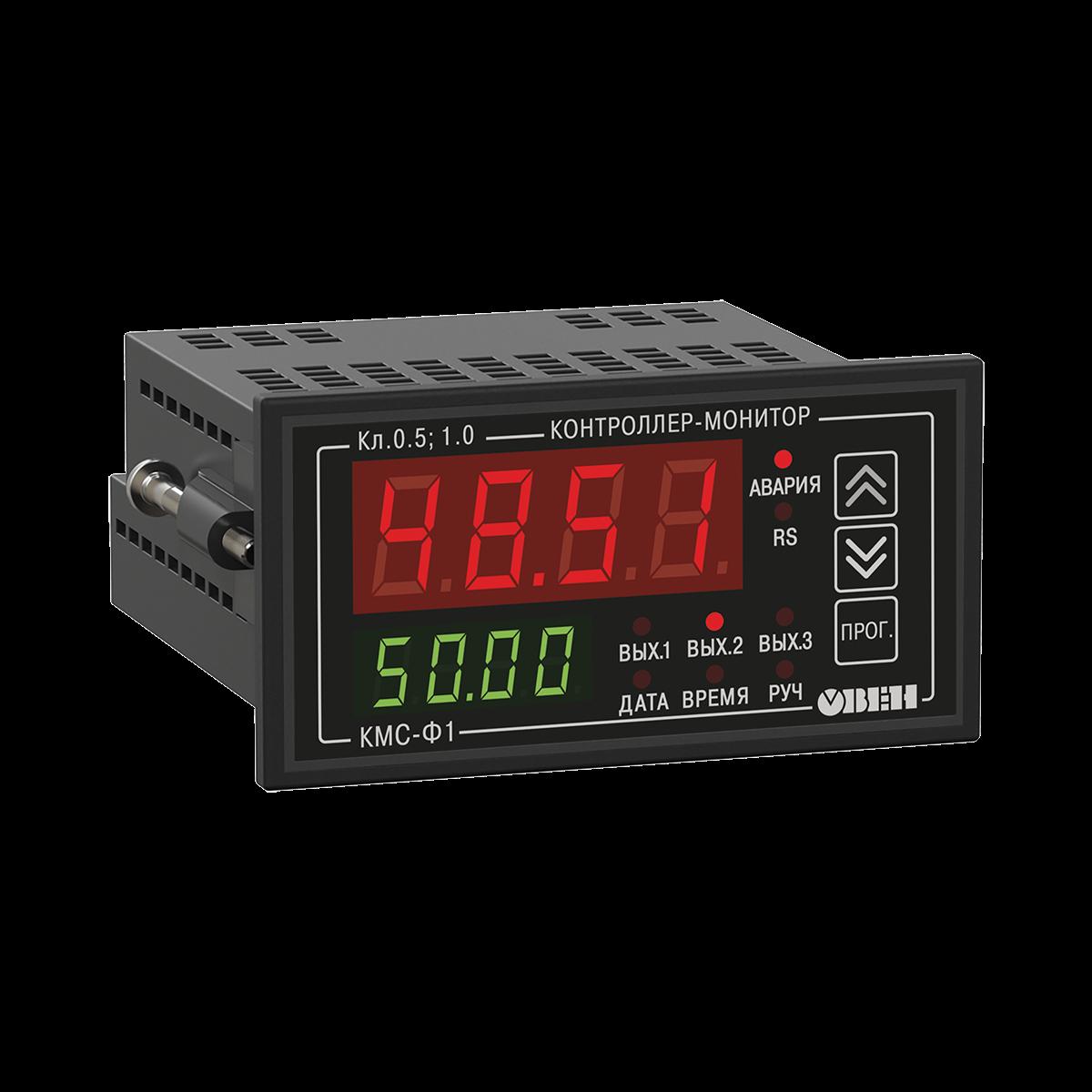 КМС-Ф1 цифровой мультиметр с аварийной сигнализацией и RS-485