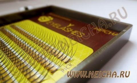 Ресницы NEICHA нейша двойные Y-тип 16 линий (отдельные длины)