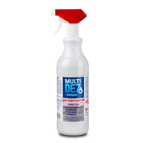 Мультидез-Тефлекс для дезинфекции и мытья поверхностей с отдушкой БАБЛ ГАМ (триггер) 0,5л (быт)