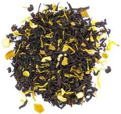 """""""Апельсин с имбирем"""" черный чай с фруктами, травами и пряностями 100 гр"""