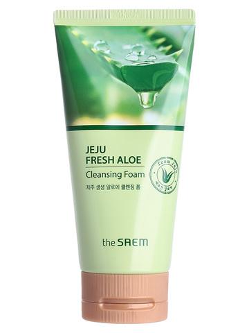 СМ Aloe Пенка для умывания Jeju Fresh Aloe Cleansing Foam 150гр