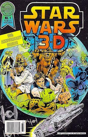 Star Wars 3-D #1 (1987)