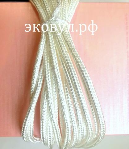 Кремнеземный огнестойкий шнур  ШКН(Н) 1-20 (20 метров)/ЭКОВУЛ