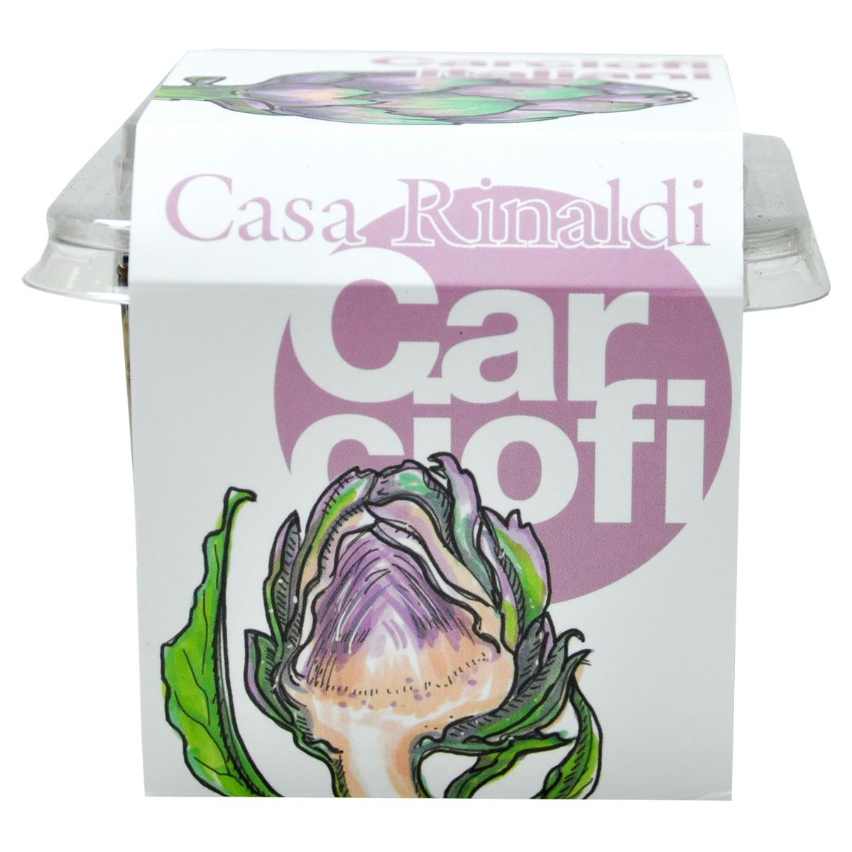 Артишоки жаренные на гриле Casa Rinaldi 350 г /контейнер пластик/