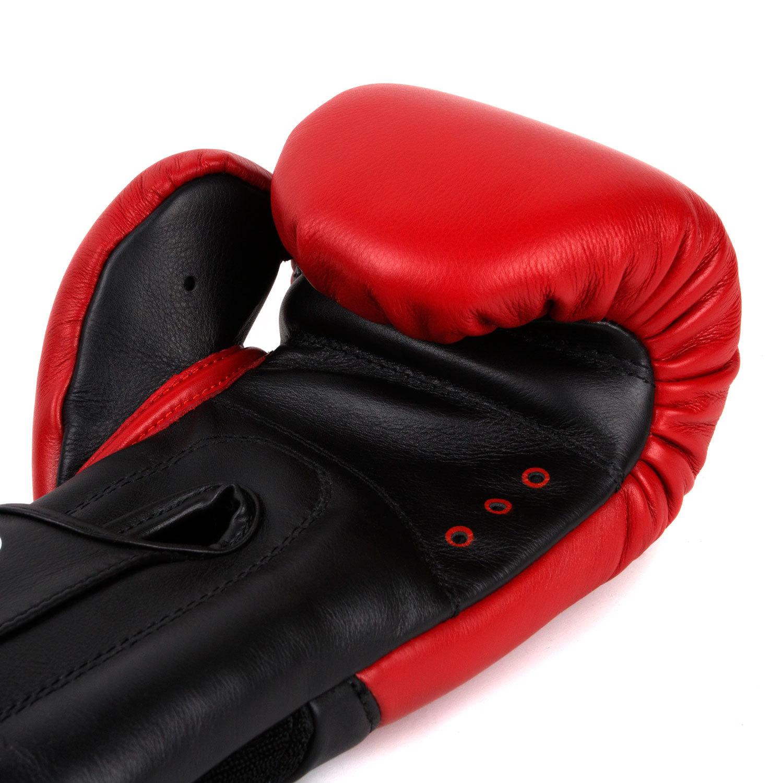 Перчатки Dozen Dual Impact Red/Black вентиляция